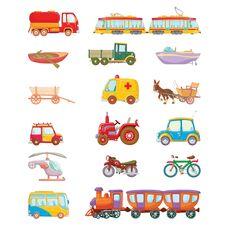 Mijloace de transport (KP-016), fig. 1