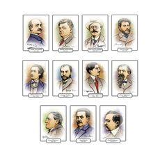 Scriitori români – Set planșe (KP-017) - 20 x 30, fig. 1