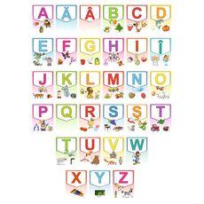Alfabetul limbii române – Set planșe (KP-019) - 30x40, fig. 1