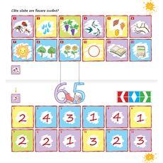 Set joc educativ LUK, varsta 5+, Exercitii interdisciplinare anotimpuri, fig. 4