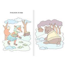 Povesti romanesti - carte de colorat cu apa, fig. 2