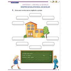 Comunicare în limba română cls. a II-a semestrul I, fig. 5