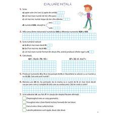 Matematică – clasa a III-a, semestrul I, fig. 2