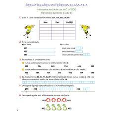 Matematică – clasa a III-a, semestrul I, fig. 3