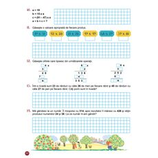 Matematica - Auxiliar pentru clasa a IV-a – semestrul I, fig. 8