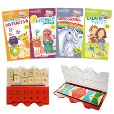 Set joc educativ LUK, varsta 5+, Matematica, limba romana, logica si creativitate, fig. 1