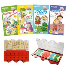 Set joc educativ LUK, varsta 6+, Matematica, limba romana, logica si creativitate, fig. 1