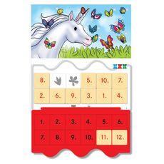 Joc educativ LUK, Unicornul Istet, exercitii distractive, varsta 5+, fig. 2