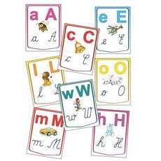 Alfabetul limbii române – Set planșe (KP-020) - 20x30, fig. 1