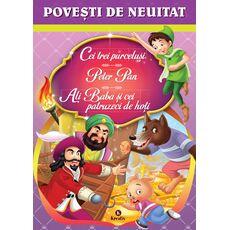 Povești de neuitat (Cei trei purceluși, Peter Pan, Ali Baba și cei patruzeci de hoți), fig. 1