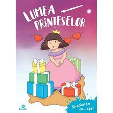 Lumea prințeselor - Să colorăm cu apă!, fig. 1