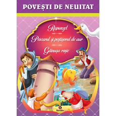 Povești de neuitat Rapunzel, Pescarul și peștișorul de aur, Găinușa roșie, fig. 1