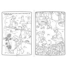Culorile primăverii - Carte de colorat cu abțibilduri, fig. 2