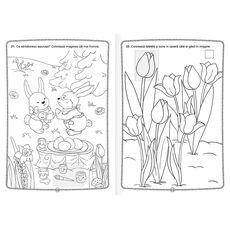Culorile primăverii - Carte de colorat cu abțibilduri, fig. 3