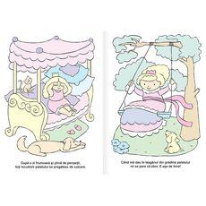 Printese - carte de colorat cu apa, fig. 2