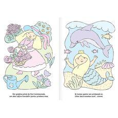 Printese - carte de colorat cu apa, fig. 3