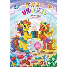 Ponei si Unicorni - carte cu activitati si abtibilduri, fig. 1